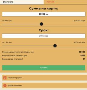 Огляд нового кредиту Taksa (Такса) от CreditBox