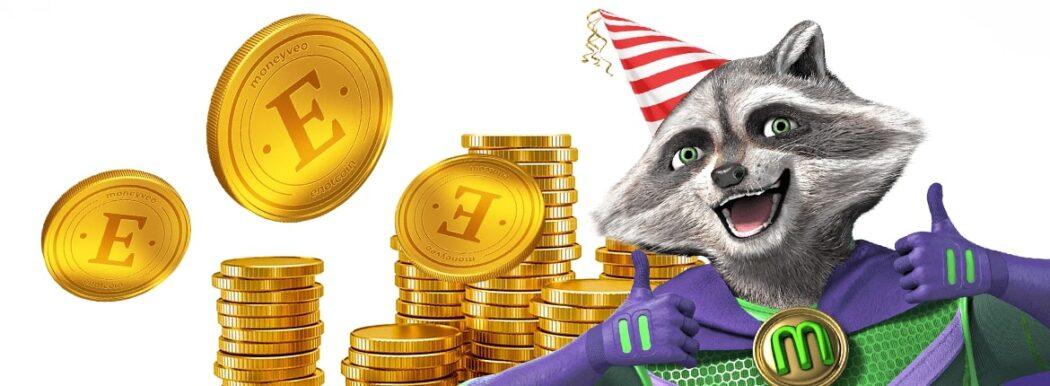 Акція від MoneyVeo до дня народження !